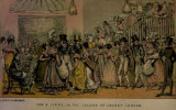 A Scene from the Book Life in London by Cruikshank