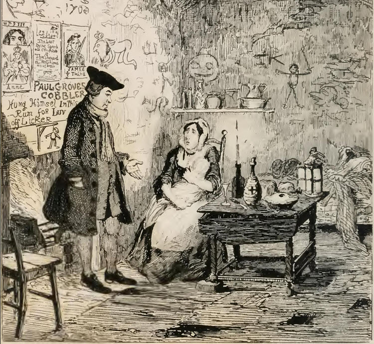 George Cruikshank Illustrations