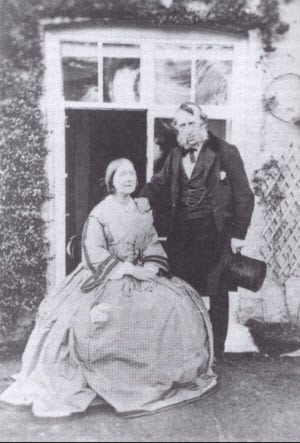 George Cruikshank and His Wife